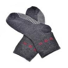 1Pair Far Infrared Anti Cold Tourmaline Socks Automatic Heat Ankle Massage Sock Foot Massager