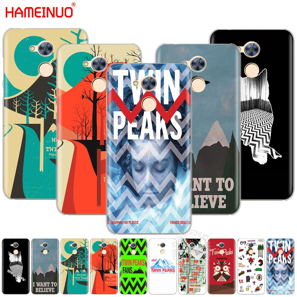 HAMEINUO welocme to the twin peaks Cover Case for Huawei Honor V10 4A 5A 6A 6C 6X 7X 8 9 NOVA PLUS LITE