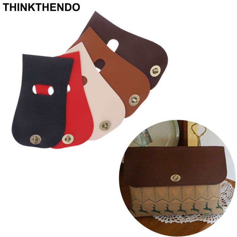 Fashion PU Leather Flap Cover Replacement For Women Handbag Shoulder Bag DIY Accessories