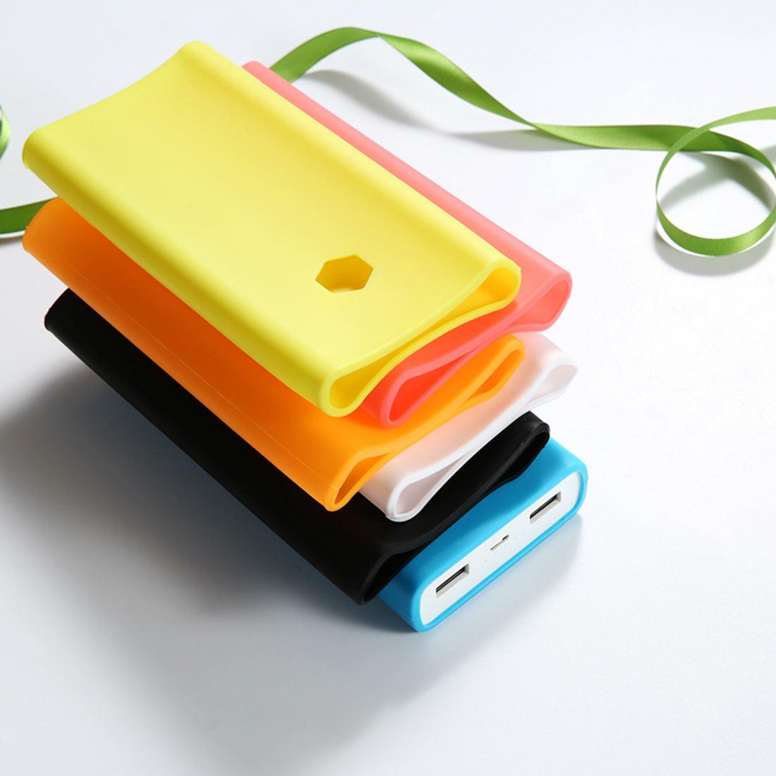 For Xiaomi Power Bank 2C 20000 mAh Power bank Case Rubber Sleeve Silicone Protective Case For Xiaomi Power bank Cover