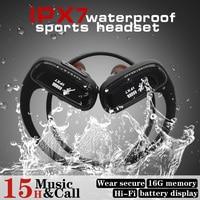 Sm828 16G Mp3 Player Bluetooth Headphone Sport Waterproof Wireless Headset Bluetooth Music Player Bluetooth Earphone For Phone