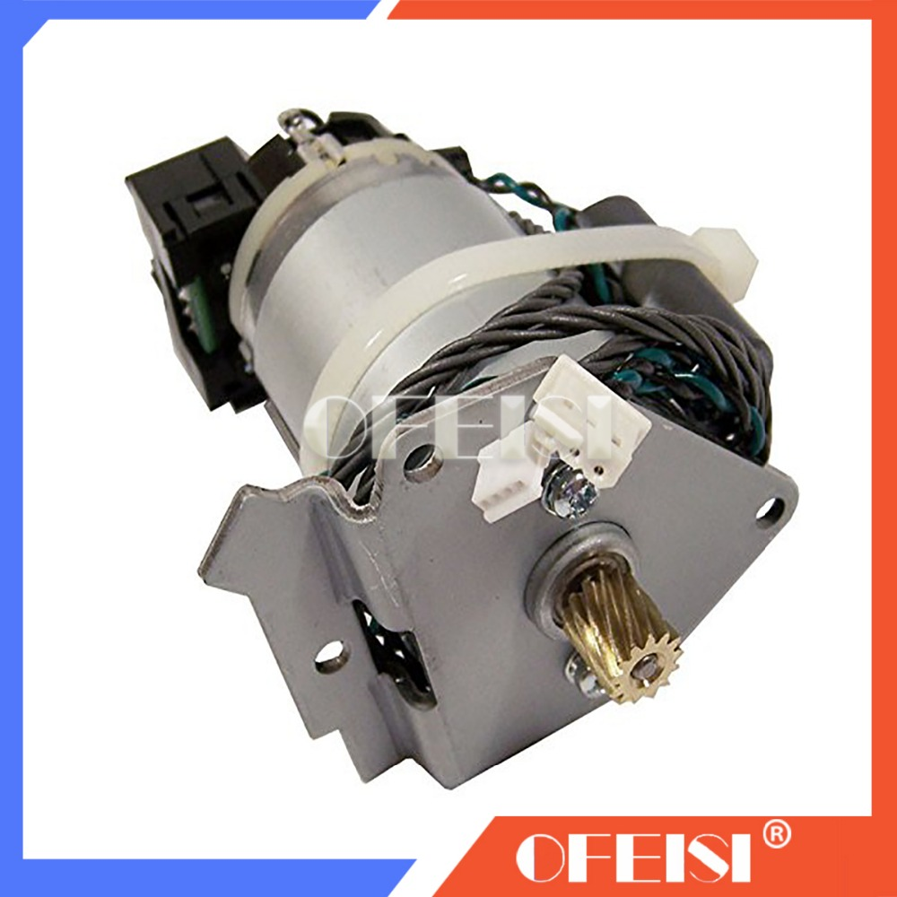 Original Paper axis motor assembly C7769 60377 C7769 60342 FOR HP DesignJet 500 510 800 ps plotter parts