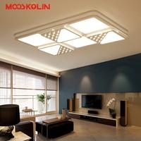 White Acrylic Modern LED Chandelier For Kid Living Room Bedroom LED Lustres Large Ceiling Chandelier Lighting