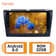 Harfey 9inch Android 8.0 Car Radio For 2004-2009 Mazda 3 GPS Navigation Multimedia Player Support Wifi Bluetooth Mirror Link