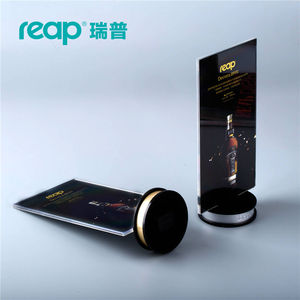 Image 2 - 5 pack Reap Decora PS T shape desk sign holder card display stand table menu service Label drink brand conference meeting