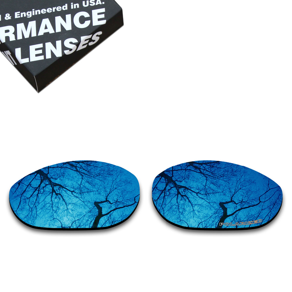 ToughAsNails Resist Seawater Corrosion Polarized Replacement Lenses for Oakley Monster Dog Sunglasses Midnight Blue (Lens Only)