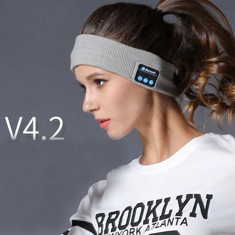 XEONGKVI New Wireless Bluetooth Skullies Beanies Music Call V4 2 Knitted Caps Brand Hair Band Women And men Lover Hats in Men 39 s Skullies amp Beanies from Apparel Accessories