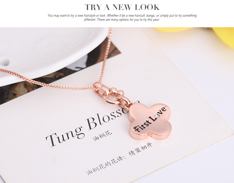 2016 African jewelry set popular Rose Gold Color pendant Plants