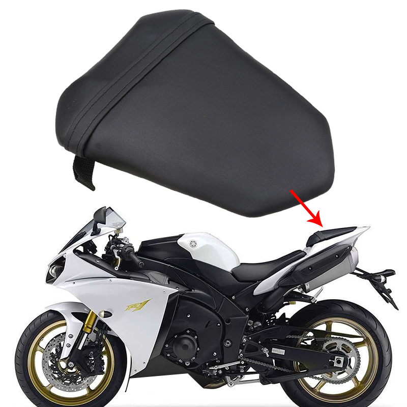 Aliexpress.com : Buy Black Motorcycle Seats Rear Pillion ...