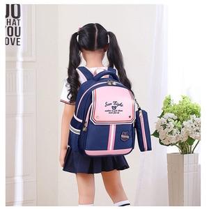 Image 4 - SUN EIGHT 1 2 Grade 15inch Girls Backpack School Bags For Kid Light Books Bag  Wholesale Price