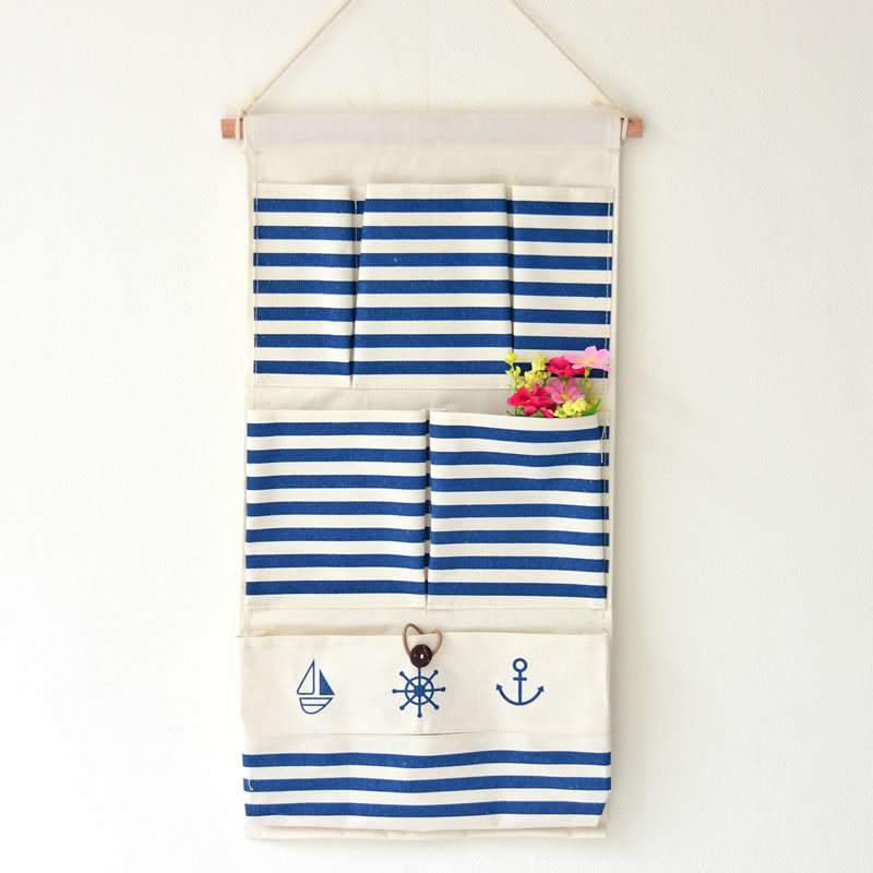 aeProduct.  sc 1 st  AliExpress.com & Mediterranean Sea Boat Anchor Stripe 6 Pocket Paper Towel Storage ...