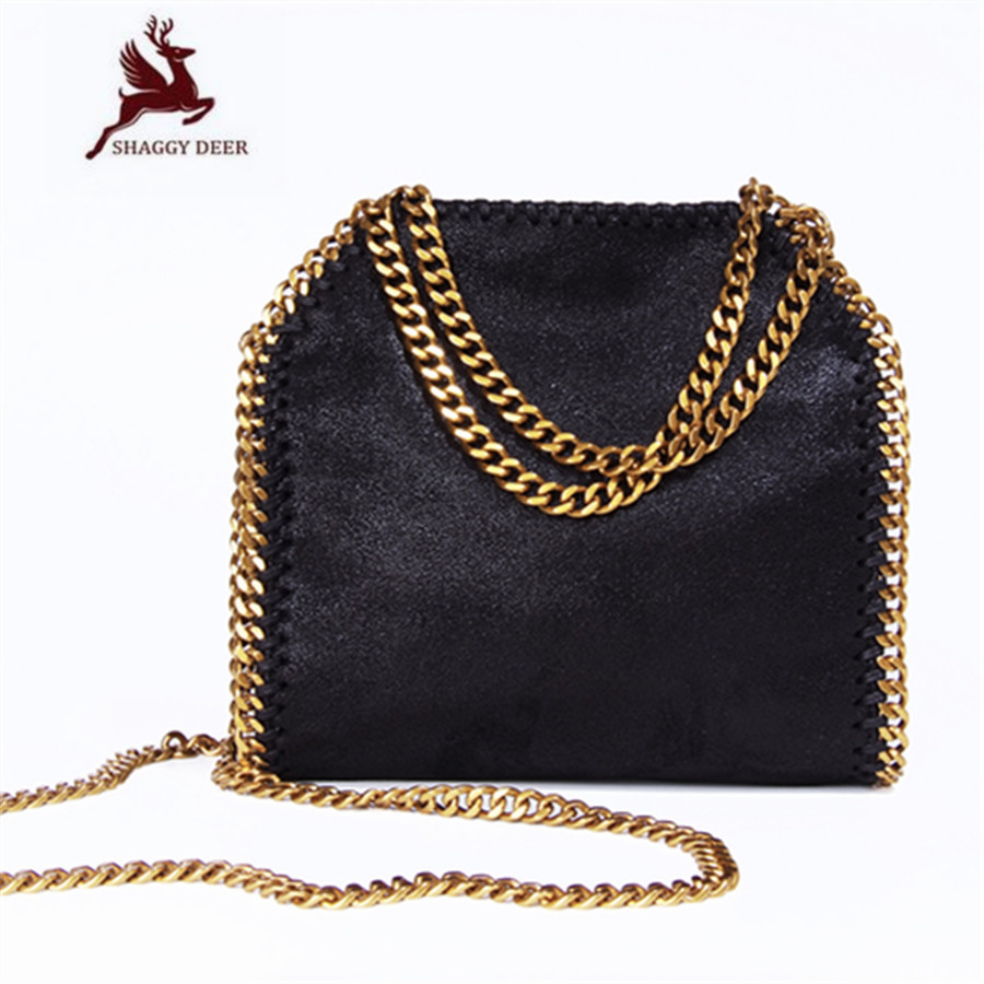 Exclusive Top Quality Luxury Mini 18cm Lady Star PVC Fold-Over Crossbody Stella Chain Shoulder Bag Shaggy Deer Chain Flap Bag mini gray shaggy deer pvc quilted chain bag with cover real picture