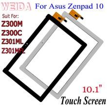 WEIDA For Asus Zenpad 10 Z300C Z300M Z301ML Z301MFL Z300 Universal Touch Screen Digitizer Panel Glass P023 P028 Without LCD boxpop boxpop 45x135 p023