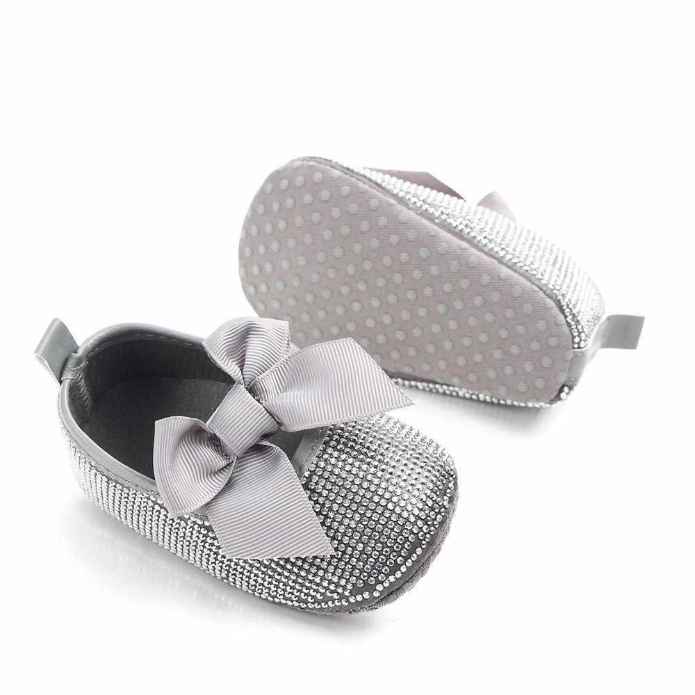 Brand New Silver Rhinestone Baby Girls