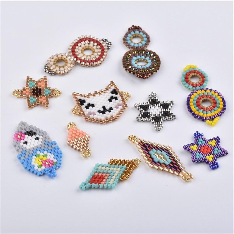 Jewelry Accessories Bracelets Handmade Miyuki  Weave Seed Beads  Earrings Ncklace Materials