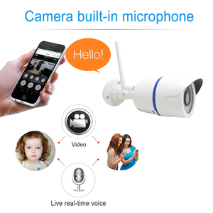 Image 4 - Ip 카메라 와이파이 1080 p 야외 960 p 720 p cctv 보안 비디오 무선 onvif 2mp 감시 오디오 ipcam 나이트 비전 홈 카메라