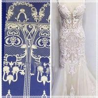 lace fabric 2018 bridal lace fabric ivory lace fabric mesh lace fabric for wedding dress