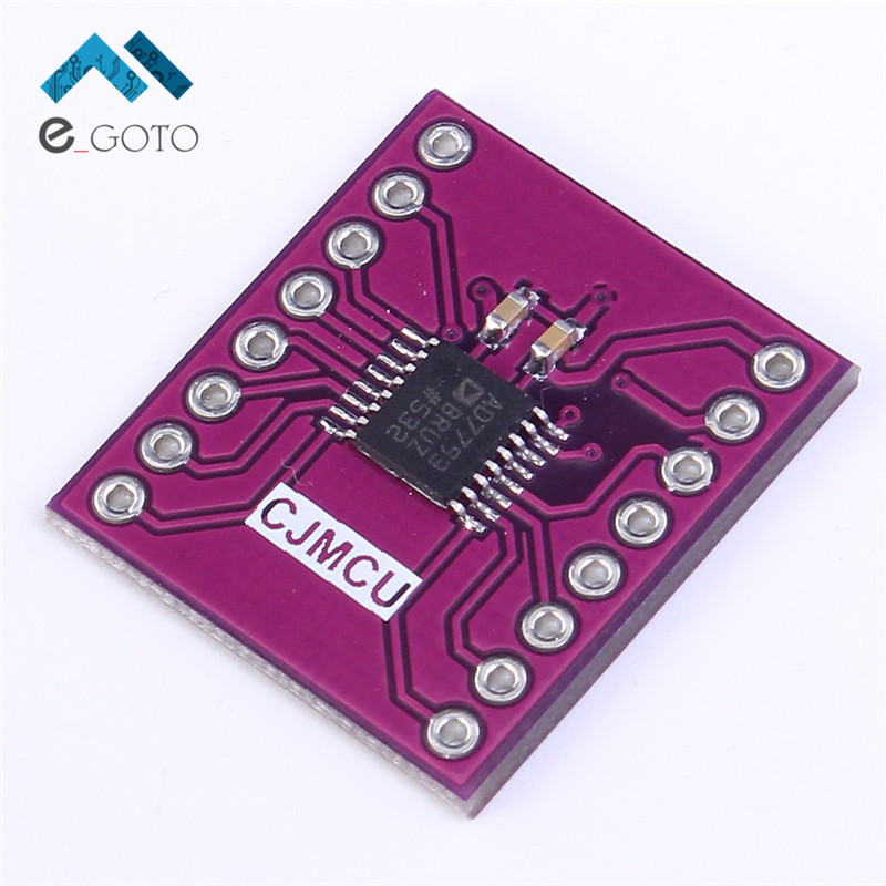 CJMCU-7793 AD7793BRU 24-bit ADC Low Noise Amplifier Module 24 Bit AD7793 3-Channel 2.7-5.25V