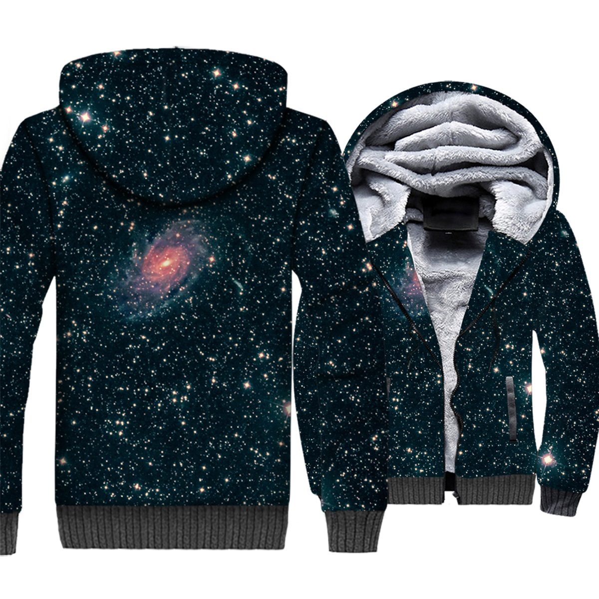 Men's Clothing 2019 Fashion 3d Pattern Printed Space Moon Meteor Top Hip Hop Sweatshirts Sportswear Winter Spring Hoodies Male Fleece Warm Tops High Quality Goods