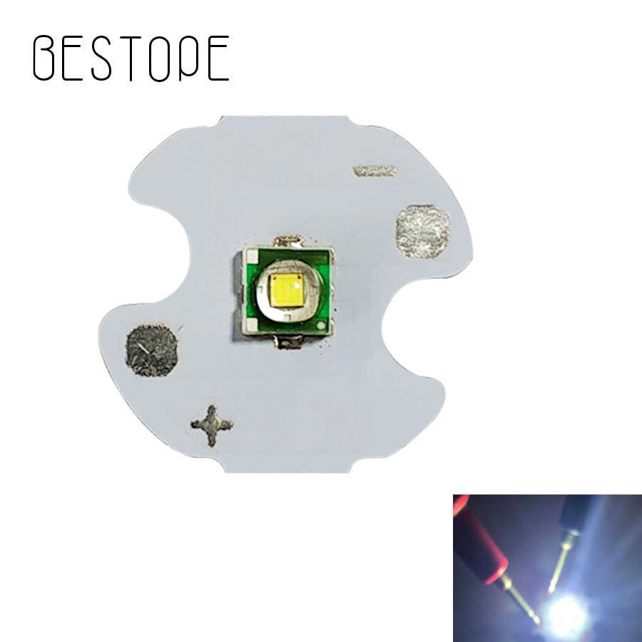 Bestope 1PCS 5PCS 15PCS 14 mm T6 LED White High Power LED Emitter Diode with PCB DIY For Flashlight Chip led BUlb