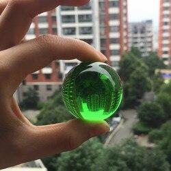 30mm bola de cristal transparente decorativo bola de vidro ornamentos feng shui globo em miniatura presentes decoração para casa acessórios