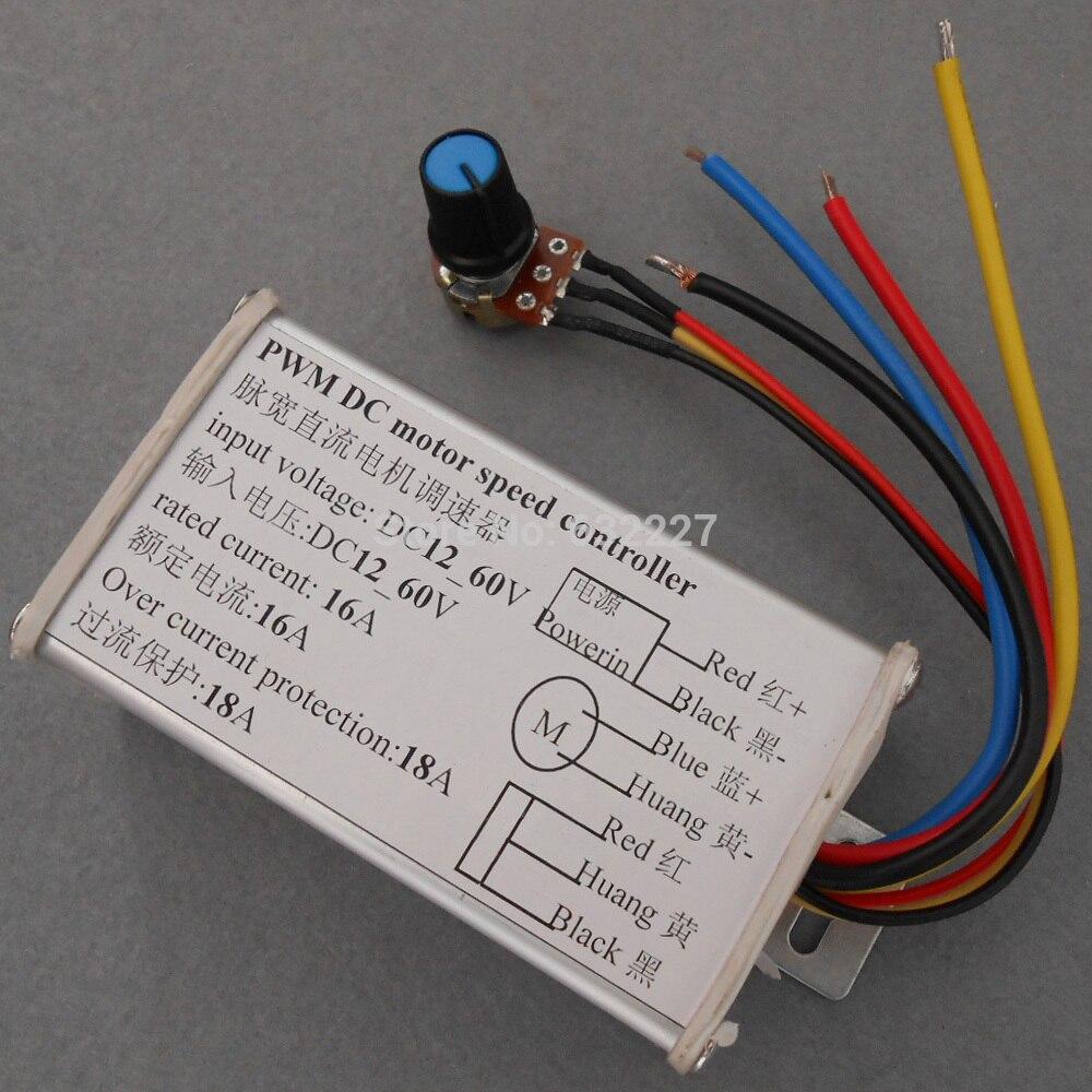 High Power Dc Motor Speed Controller Pwm Pulse Width Drive Modulation For And Led Brightness 12v24v36v48v60v Aluminum Housing In From Home Improvement On