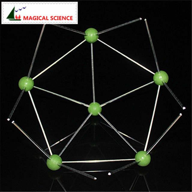 Boro Estructura Molecular Modelo B12 Modelo De Cristal Adecuado Para La Escuela Secundaria La Enseñanza De La Química Suministros
