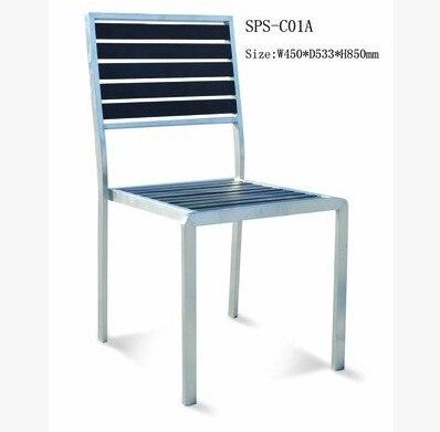 Acero inoxidable combinaci n silla de comedor silla de for Sillas comedor exterior