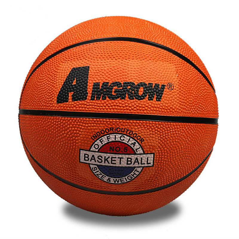 Wholesale Or Retail NEW  Children's 5# Rubber Basketball Kindergarten Ball Practice BasketballTeaching Basketball