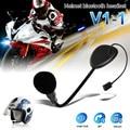 V1-1 BT Do Bluetooth Fone de Ouvido/Fone De Ouvido Mono para Chamadas Hands-free do Capacete Da Motocicleta