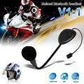 V1-1 Bluetooth BT Гарнитуры/Наушники Моно для Мотоциклетный Шлем Руки-бесплатные Звонки