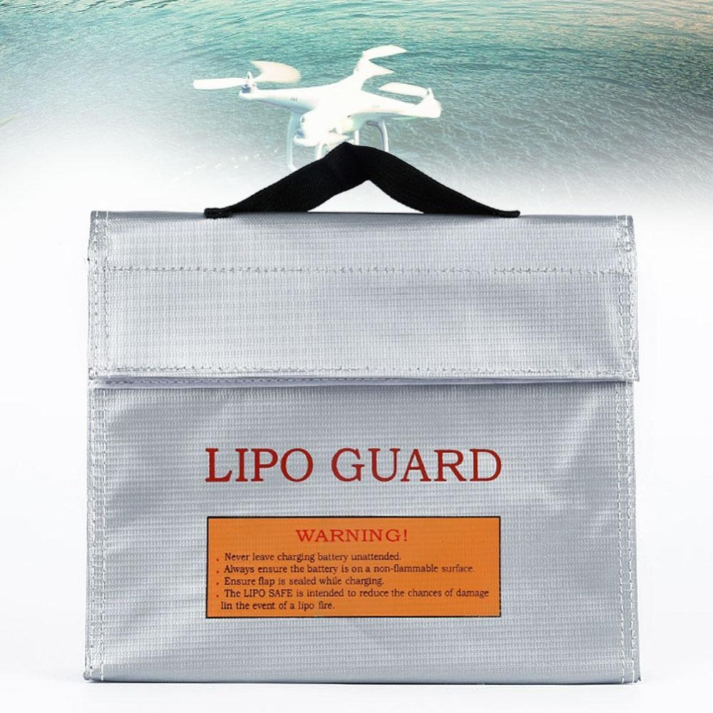New LiPo Safe Battery Guard Charging Protection Explosion Proof Bag 240x65x180mm