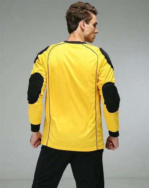Men Soccer Training Goalkeeper Jerseys