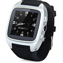 Bluetooth 3G Smart Watch WIFI Android 4 4 GPS Phone Clock Camera Heart Rate WCDMA Smartwatch