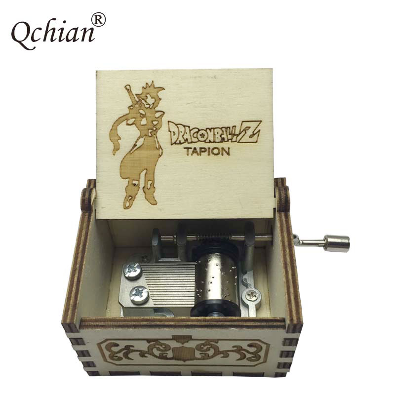 DRAGON BALL Son Goku DIY Music Box Game of Thrones Moana It Calls Me Beauty and the Beast Music Key Chains Hand Crank