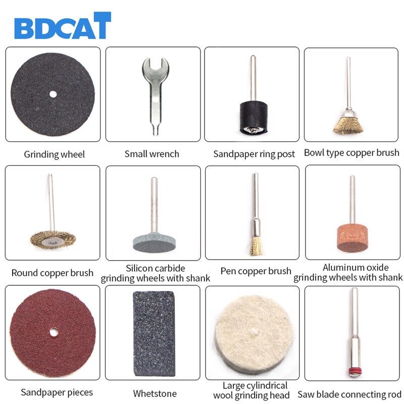 BDCAT 220V Dremel elektromos gravírozás Mini Drill polírozógép - Elektromos kéziszerszámok - Fénykép 5