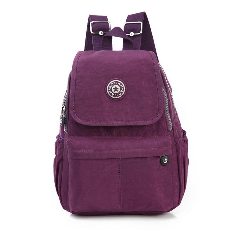 2018 New 7 Colors Small Backpack for Teenage Girls Female Backpacks Mochila Feminina Escolar Casual Mini Women School Bagpack ranhuang women casual canvas backpack new 2017 women s fashion backpack school bags for teenage girls mochila feminina a695