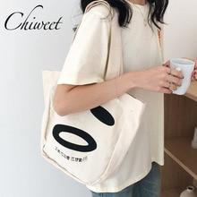 Designer Women Canvas Handbags Ladies Girl Smiley Face Tote Bag Large Funny  Bag Student Harajuku Lolita 2725b9e17d491