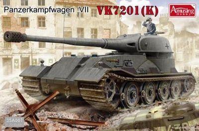 Забавное хобби 35A007 1/35 Panzerkampfwagen VK7201 ( к )