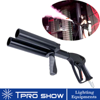 DJ CO2 Gun Double Nozzle Cryo Machine Pistola Co2 Column Smoke Fog Spray to Crowd in Disco Club Party Dancing