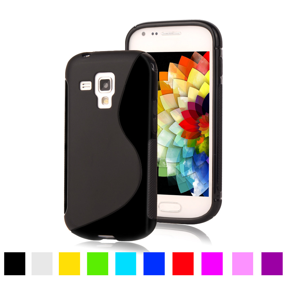 S7580 S LINE Silicone Gel TPU Soft Case For Samsung Galaxy ...