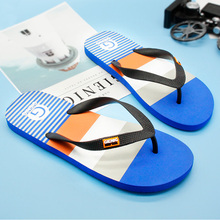 Gienig 2017 slippers men flip-flops  Outdoor beach slippers massage Comfortable massage slippers