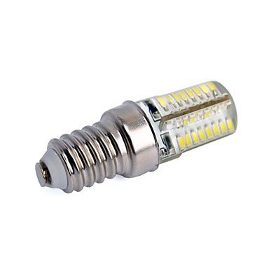 4 X E14 W 64 SMD 3014 300 LM Warm White Corn Bulbs  220V or 110v