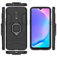 For One plus 7/6T Armor Case With Finger Ring Kickstand Shockproof Dual Layer Hard Back Cover case
