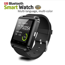 Bluetooth Smart Uhr U8 Armbanduhr U SmartWatch für Für iPhone 4/4 S/5/5 S/6, Samsung S4/Note/s6 HTC Android Phone Smartwatch