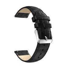 De remplacement bracelet en cuir montre bracelet sangle bande pour huawei watch 2 bracelet bracelet