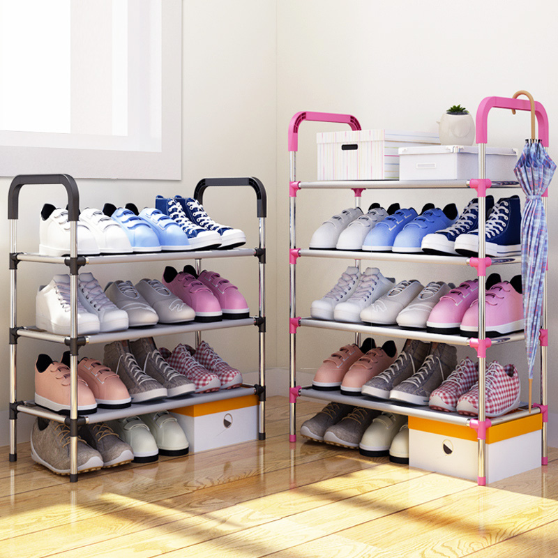 Modern Minimalist Fashion Shoes Organizer Free Assembly Home Furniture Removable Super Saving Space Shoes Cabinet Shoes Closet