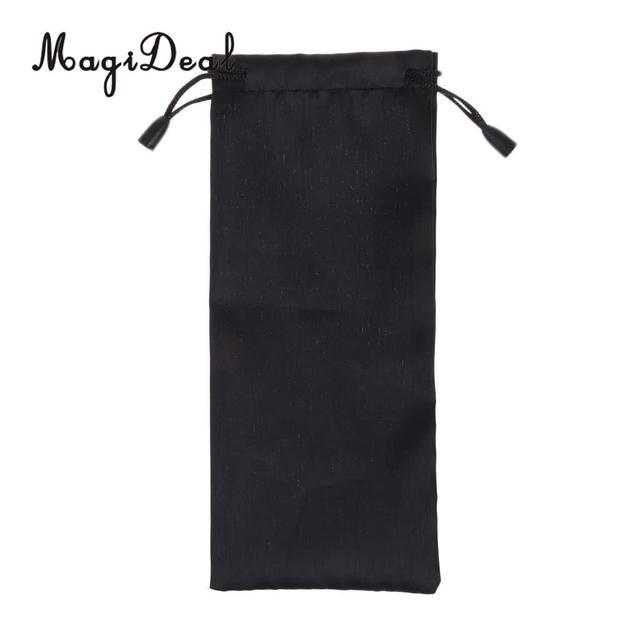 Magideal 1pcs High Quality Black Nylon Storage Bag For Tent Stake Awning Peg Camping Hiking Climbing