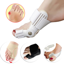 Orthopedic Bunion Corrector Pedicure Tool Hallux Valgus Toe Correction Toe Separator Big Bone Thumb Adjuster Orthotics Foot Care foot hallux valgus correct correction big toe bunion separator corrector orthotics toe separator bandage cover cocks bunion pads