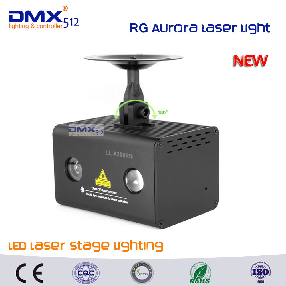 DHL Free shipping Remote RG Aurora Laser Light Professional Stage Lighting Equipment Sky RGB LED Stage Party Disco DJ Home Light transctego laser disco light stage led lumiere 48 in 1 rgb projector dj party sound lights mini laser lamp strobe bar lamps